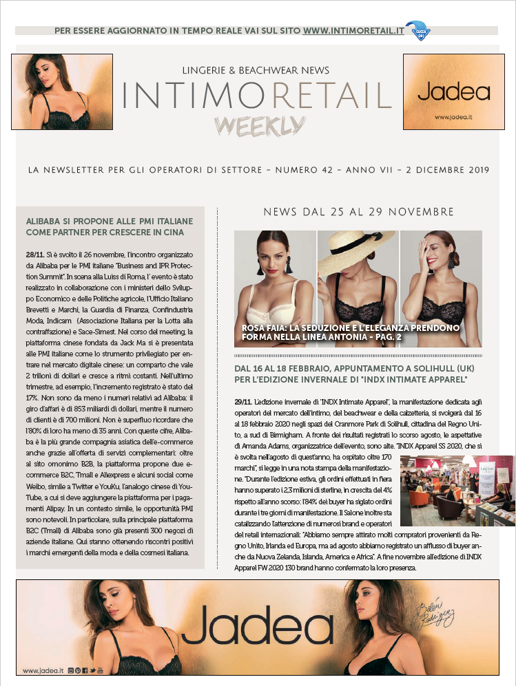 INTIMO RETAIL WEEKLY N.42