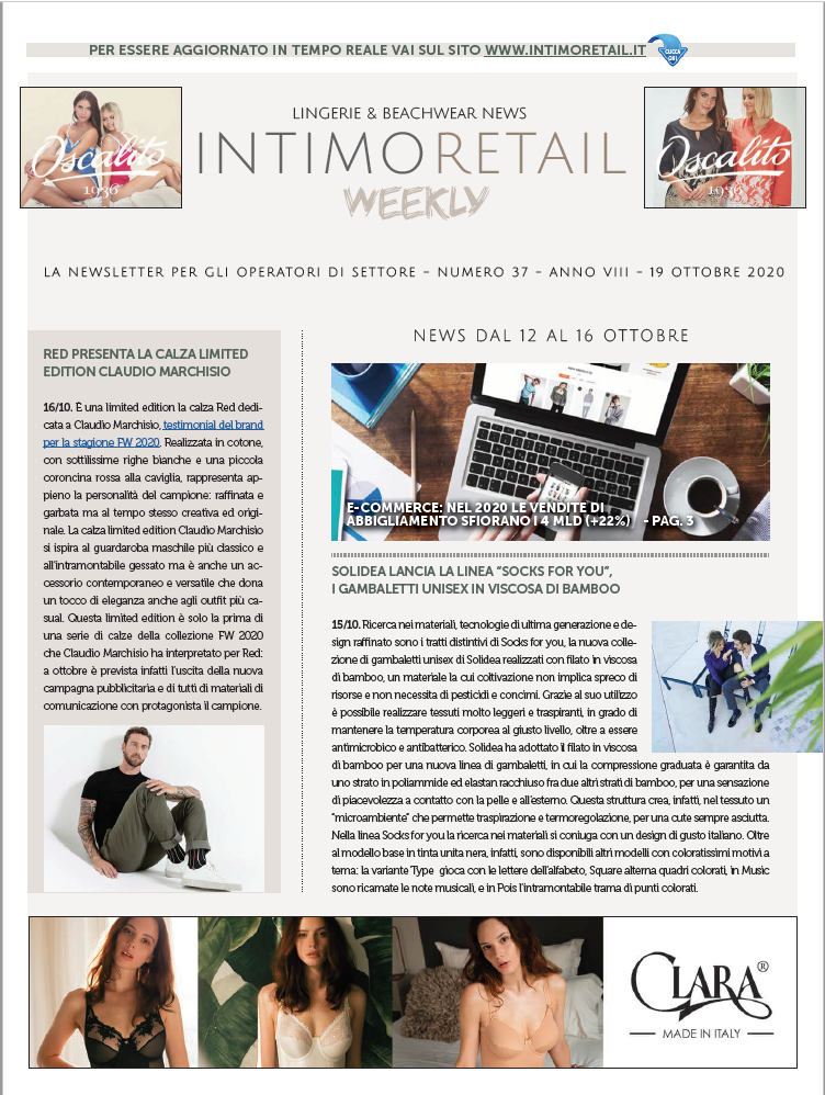 Intimo Retail Weekly n.37-2020