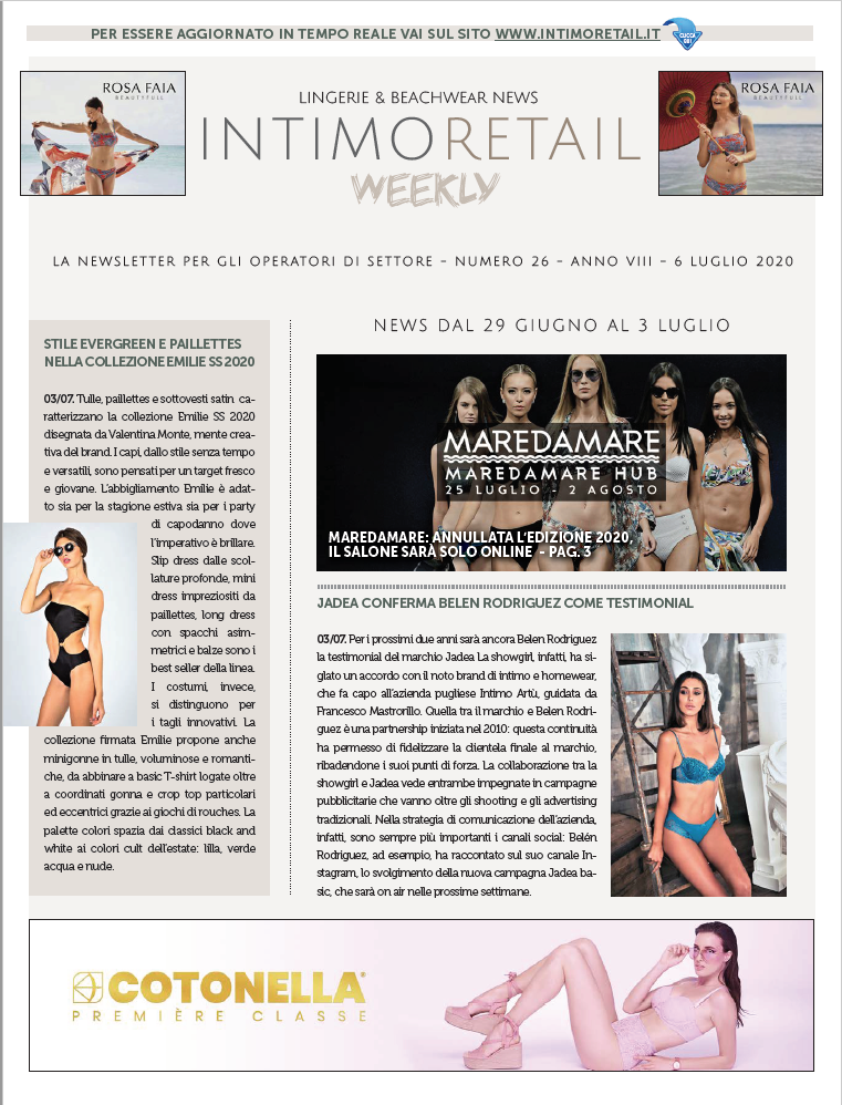 intimo retail weekly n.26