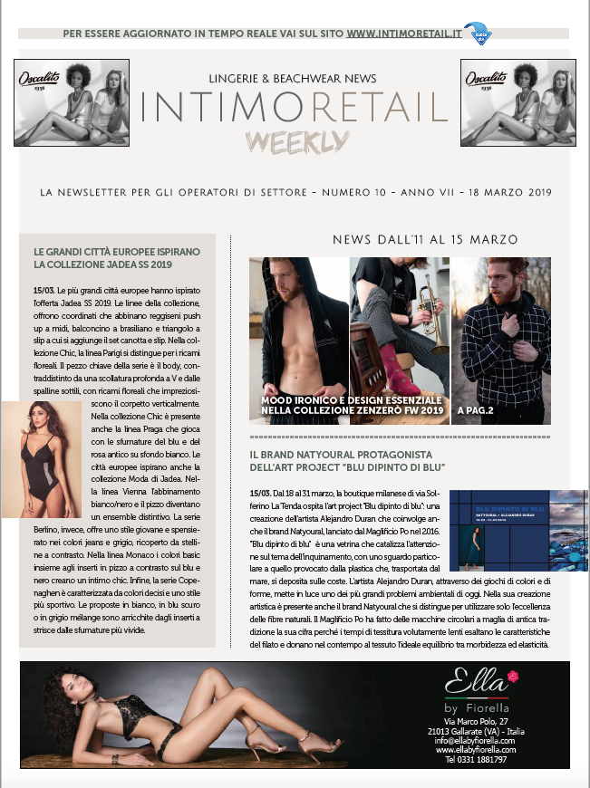 intimo retail weekly n.10-2019
