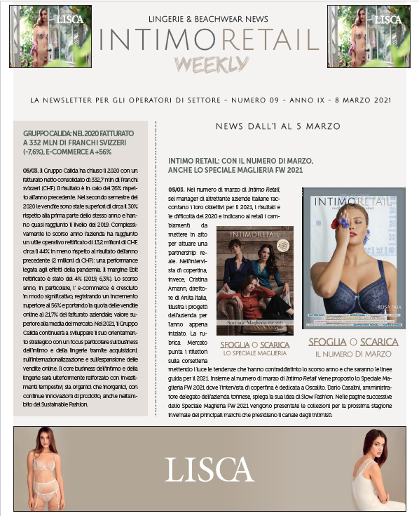 intimo retail weekly n.9-2021