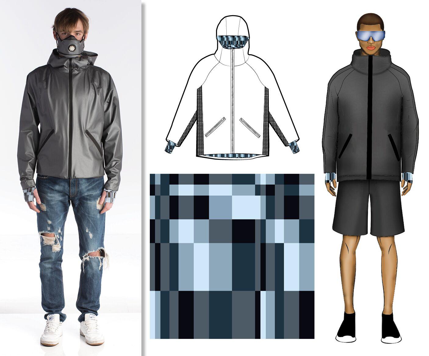 Sensitive fabrics protagonista del progetto the city for Politecnico di milano design della moda