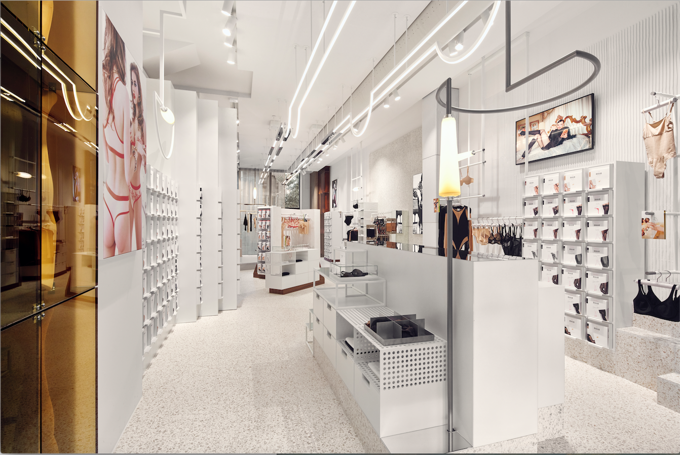 Flagship store wolford amsterdam