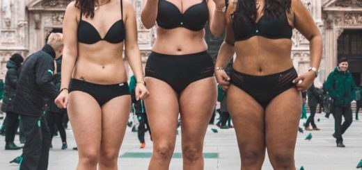 Body positive catwalk