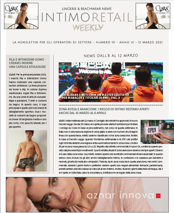 intimo retail weekly n.10-2021