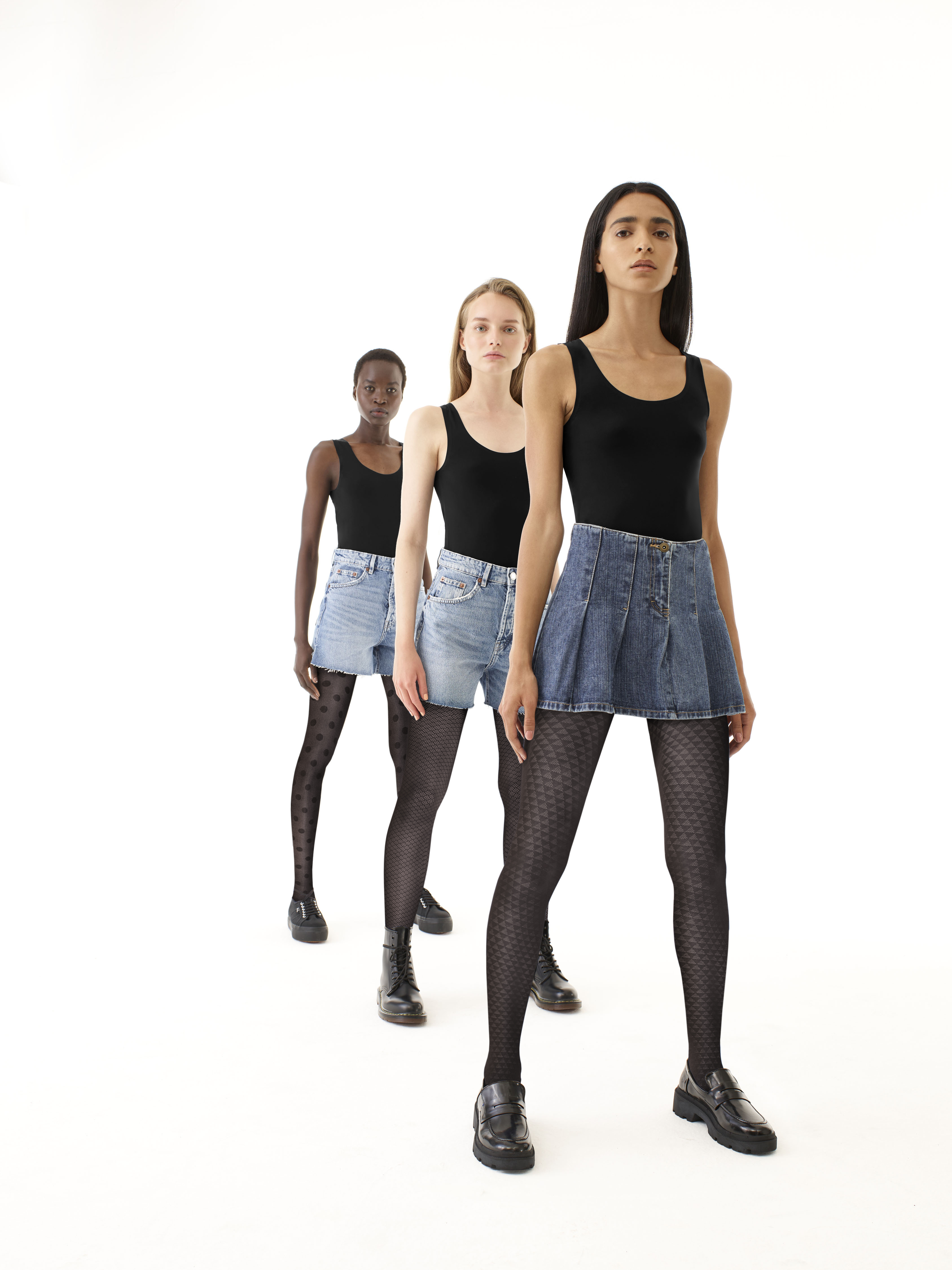 eco sneakers tights